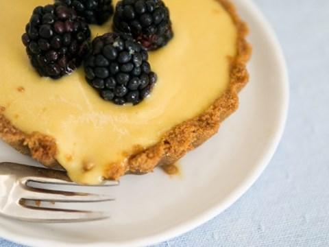 Blackberry and lemon curd tartlets.jpg