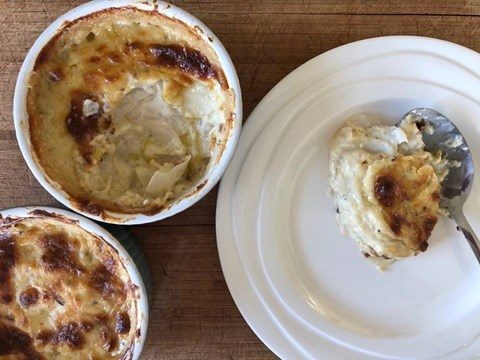Snowball turnip and blue cheese gratin.jpg