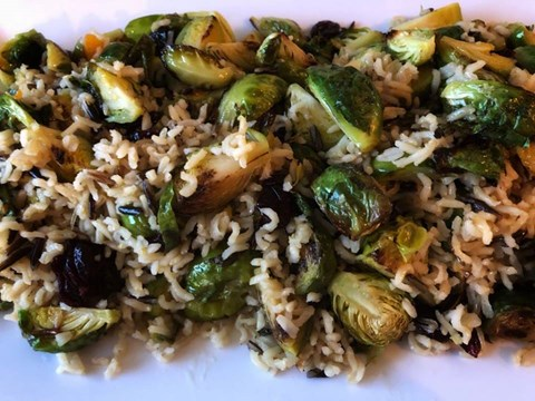 Roasted Sprouts With Wild Rice and Cranberries.jpg