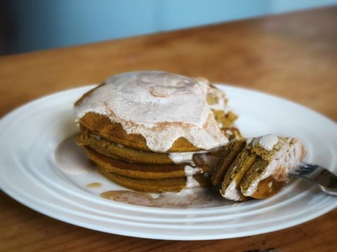 Pumpkin pancakes with spiced maple yoghurt.jpg