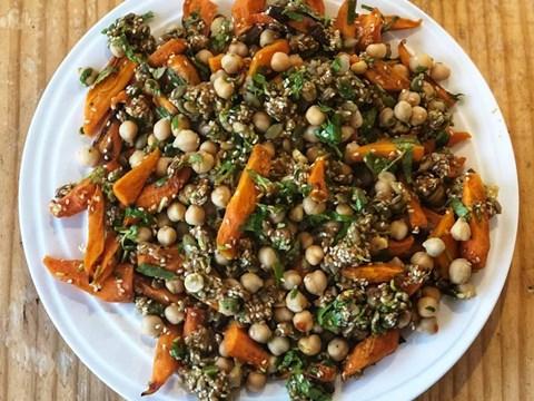 Carrot & Dark Roast Peanut Butter Salad.jpg