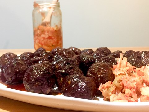 Ginger Beef Meatballs with Kimchi (GF).jpeg