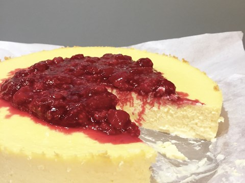 Baked Curd Cheesecake with Raspberries.jpg