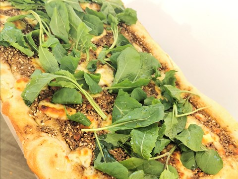 Za'atar and Curd Cheese Pizza with Rocket.jpg
