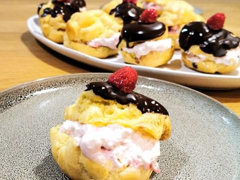 Raspberry Cream Puffs.jpg