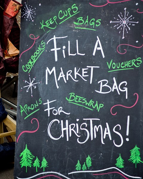 Shop at the market for Christmas this year!